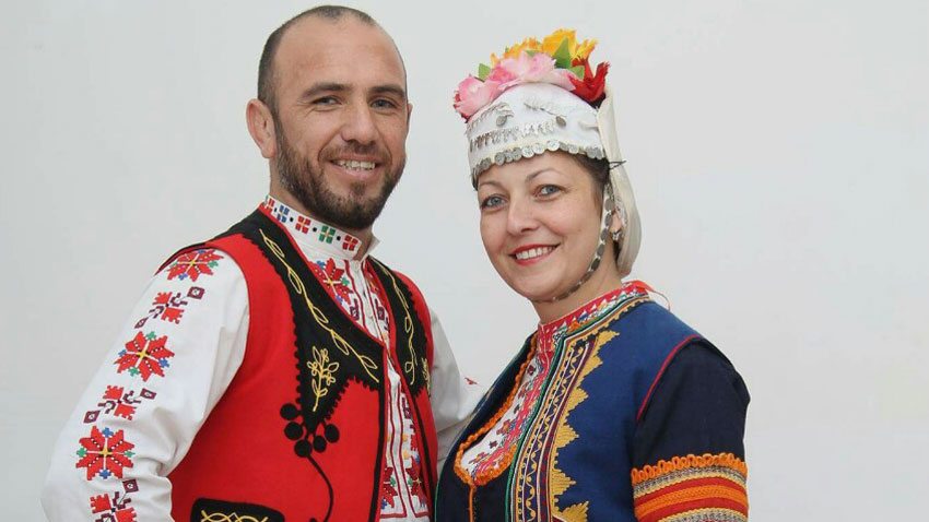 Ангел и Катя Петрови. Снимка: личен архив