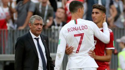 Фернандо Сантос се изказва ласкаво за Кристиано Роналдо