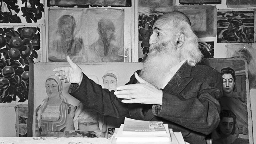 Great Bulgarian painter Vladimir Dimitrov - the Master