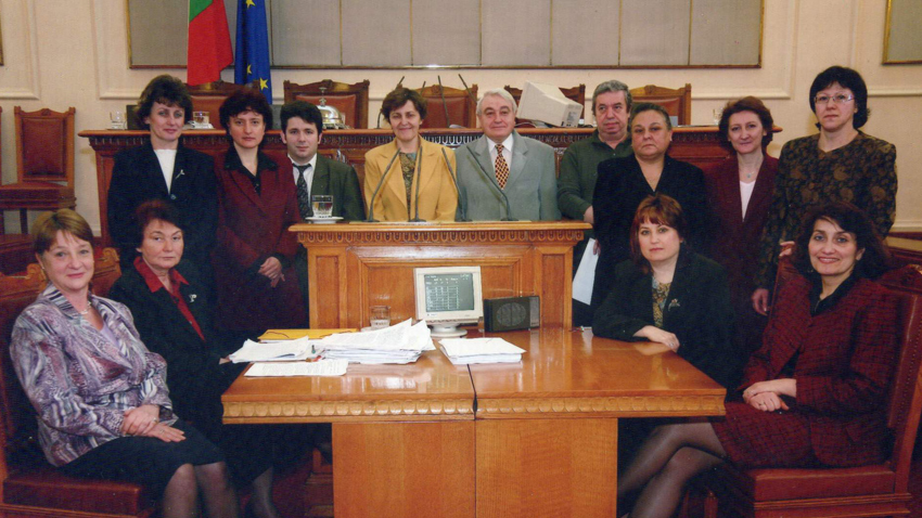 The stenographers' team of the National Assembly