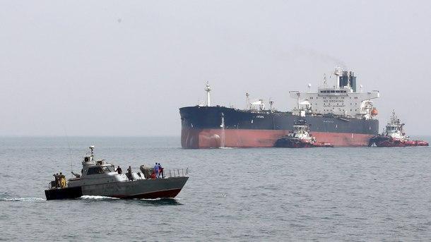 Великобритания заяви, че ще освободи задържания ирански танкер, ако узнае дестинацията му