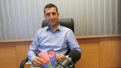 Г-н Фабиен Флори, директор на Френския културен институт, София в студиото на предаването.