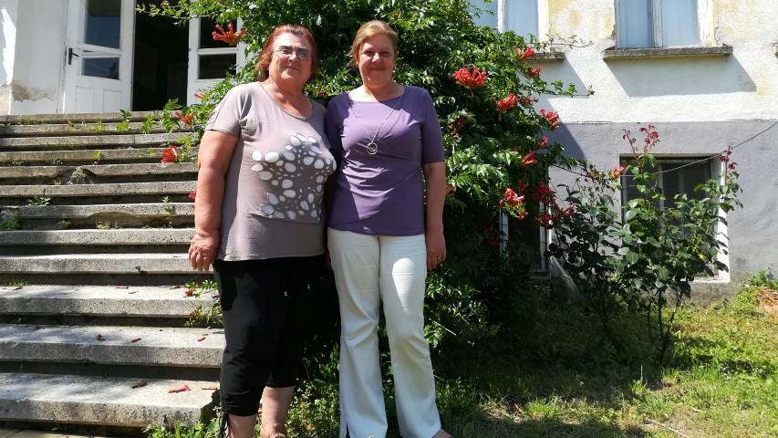 От ляво на дясно: Виолета Георгиева и Маргарита Георгиева