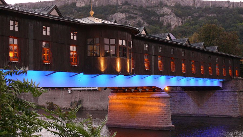 The covered bridge in Lovech