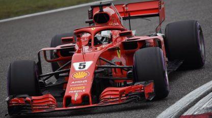 """Двете """"Ферари"""" стартират първи в Шанхай"""