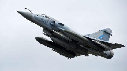 """Изтребител """"Мираж 2000-5"""" на френските ВВС, като разбилият се гръцки самолет."""