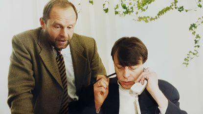 Ивайло Савов - вляво, и Станислав Буковалов - вдясно, работен момент