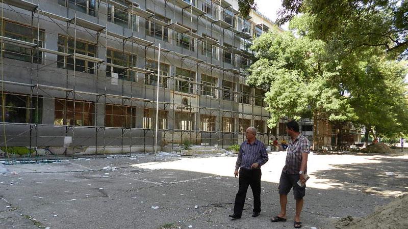Областният управител Кръстьо Спасов провери хода на ремонтните дейности в ПМГ