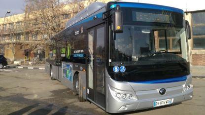 Първият електробус ще се движи по линия 84