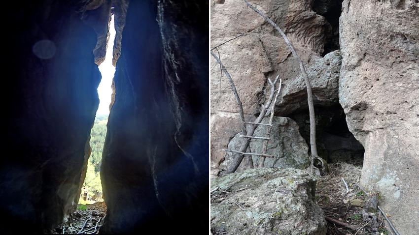 Harman kaya yakınındaki mağara ve Bukorov mağarası..