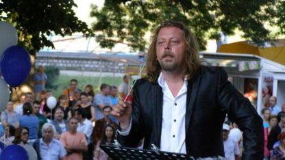 Диригентът на Оркестъра за народна музика на БНР Димитър Христов