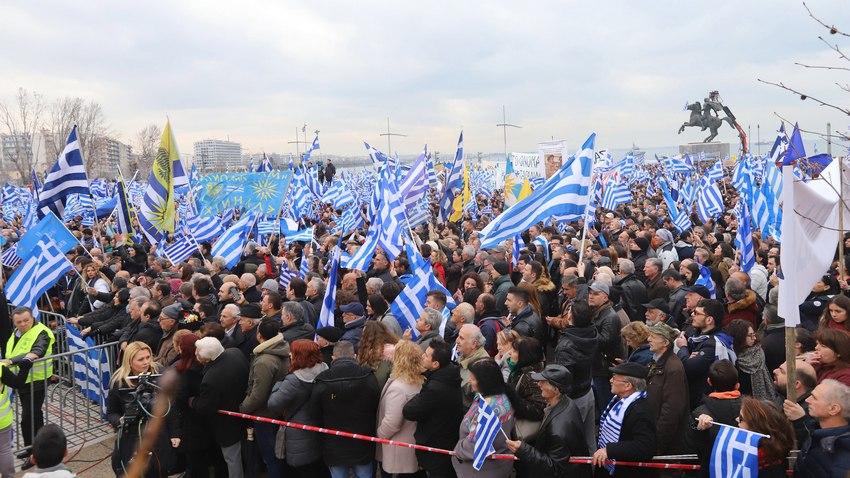 Участието на гърците на митинга надмина очакванията на самите организатори.