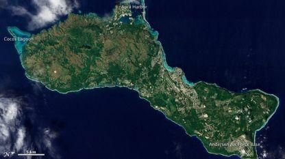 Обявено е предупреждение за цунами за остров Гуам