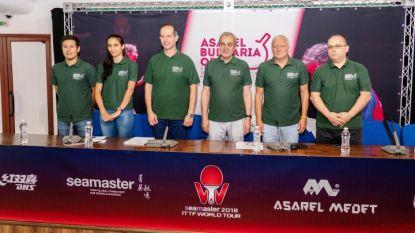 От ляво на дясно: Коджабашев, Йовкова, Христов, Александров, Китов и Симеонов