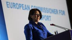 Европейският комисар по транспорта Виолета Булц