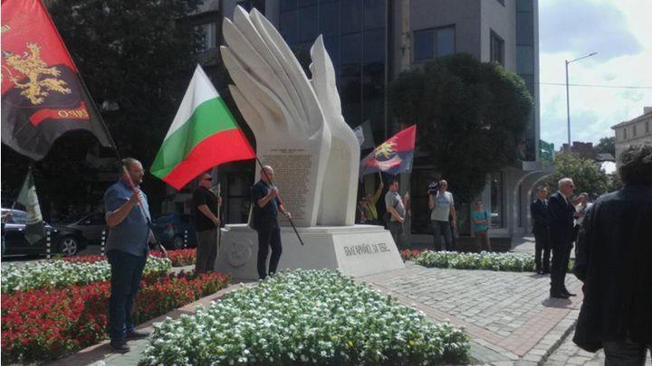 ВМРО отбелязва годишнината от въстанието  пред паметника на загиналите революционери от Македония, Беломорието и Одринско в София.