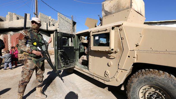 """Иракската армия прочиства Университета на Мосул, след като го превзе от """"Ислямска държава"""""""