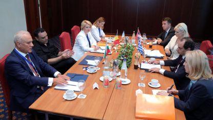 Министрите на транспорта с паралелна среща в Солун