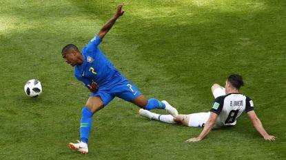 Дъглас Коста (вляво) получи контузия срещу Коста Рика