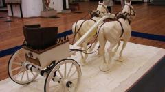 Възстановка на тракийска колесница от с. Караново, Новозагорско