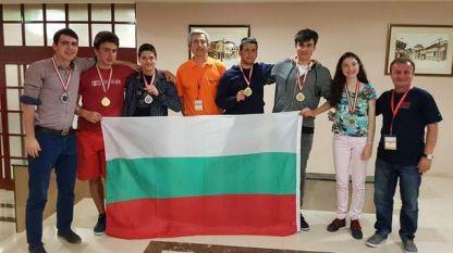Nxënësit bullgarë - fitues në Olimpiadën