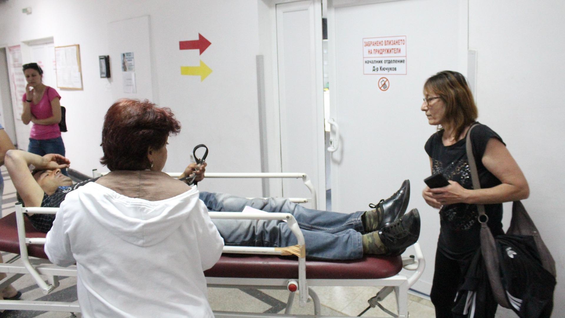 Един от пострадалите при катастрофата с влак и работнически автобус в Симеоновград, приети в хасковската болница