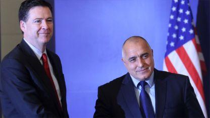 James Comey es el segundo director de la FBI que viene a Bulgaria durante gobiernos de Boiko Borisov después de la visita en 2011 de Robert Mueller