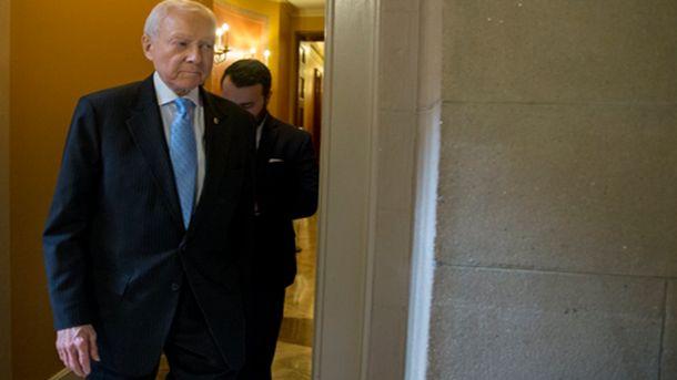 Сенаторът седми мандат от Юта - републиканецът Орин Хач, който