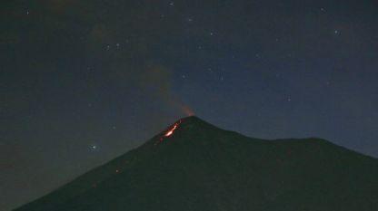 Изригването на вулкана Фуего в Гватемала