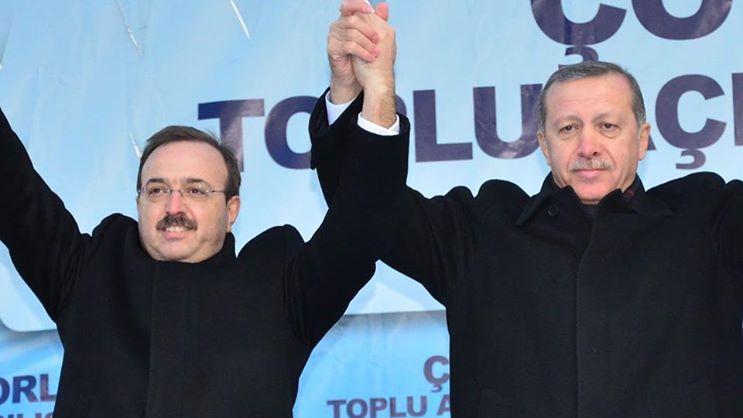 Мустафа Йел и Реджеп Тайп Ердоган