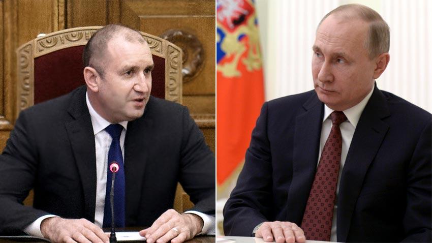 На 22 май президентът Румен Радев ще разговаря в Сочи