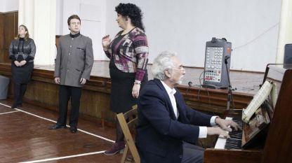 Габриела Георгиева, Костадин Андреев, Гергана Русекова и Велизар Генчев (отляво надясно)