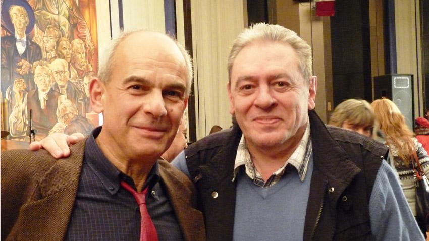 Кристиян Бояджиев (вляво) и Михаил Белчев.