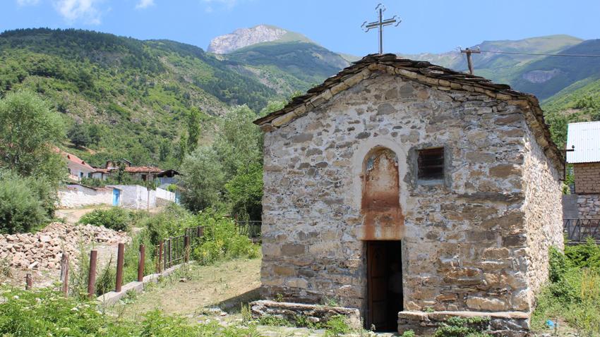 """Kisha """"Shën Spas"""" në Kërçishtin e Sipërm"""