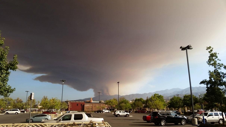 Горски пожар в Калифорния