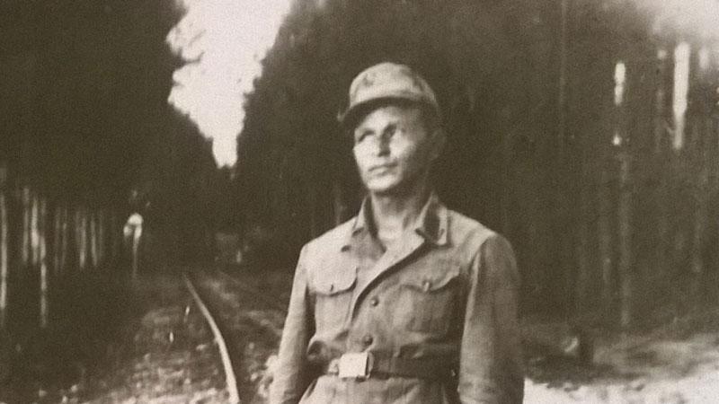 Дядо Йордан като войник