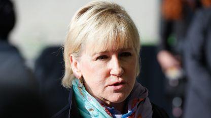 Шведският външен министър Маргот Валстрьом