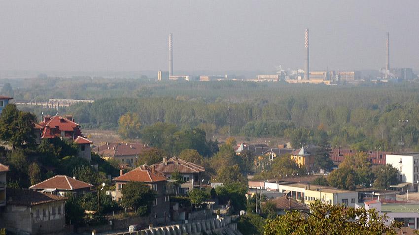 Изглед от град Свищов.