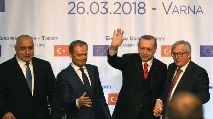 Срещата на върха Европейски съюз – Турция във Варна