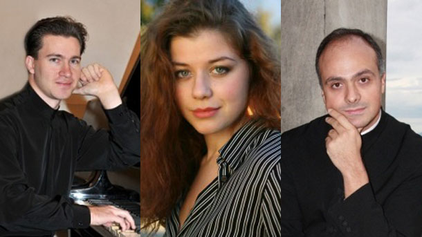 Στην έναρξη του φεστιβάλ η Ορχήστρα του Classic FM Radio θα παρουσιάσει  Κονσέρτο για  τρία πιάνα και ορχήστρα του Βόλφγκανγκ Αμαντέους Μότσαρτ με σολίστ  Γκεόργκι  Τσέρκιν, Βικτόρια Βασιλένκο και Γκριγκόρ Παλικάροφ.