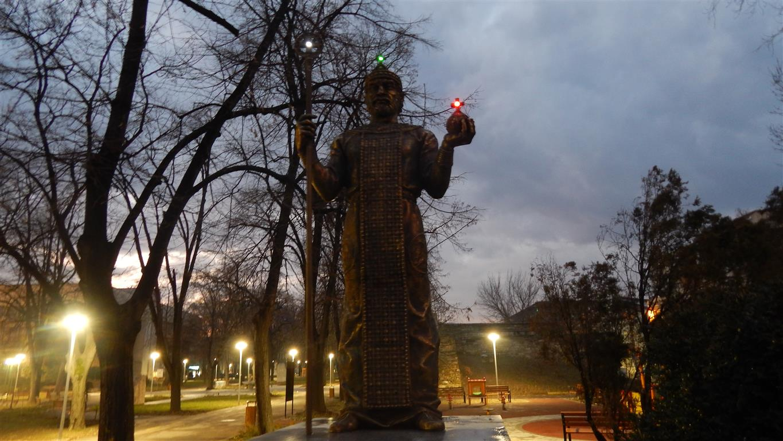 Паметникът на цар Иван Срацимир