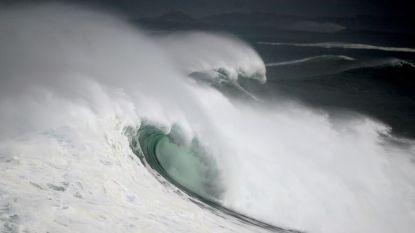Големи вълни по крайбрежието на Испания през януари тази година