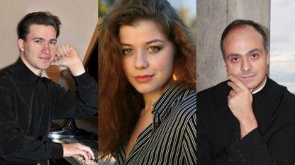 En la apertura del festival, la Orquesta de la radio Clasic FM presentará el concierto para tres pianos de Mozart con solistas Gueorgui Cherkin, Victoria Vasilenko y Girgor Palikarov