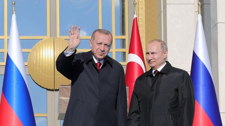 Президентите на Турция и на Русия Реджеп Ердоган и Владимир Путин дадоха през април старта на строителството на АЕЦ