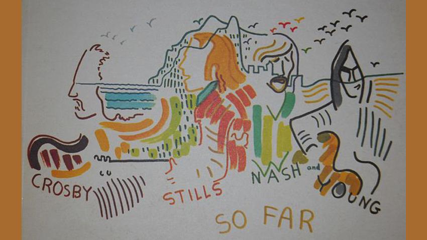 Рисунка на певицата Джони Мичъл