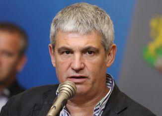 Pllamen Dimitrov - shefi i Konfederatës së Sindikatave të Pavarura në Bullgari