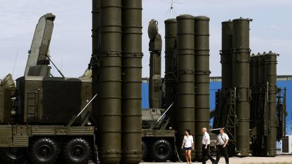 Руските зенитни комплекси С-400