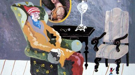 Illustration to Andersen' tales