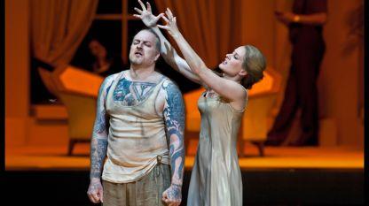 """Сцена от операта """"Саломе"""" на Рихард Щраус"""