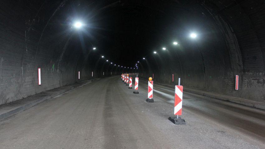 """Новото лед осветление в тунел """"Ечемишка"""""""